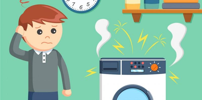Ce sa faci daca usa de la masina de spalat nu se mai deschide?