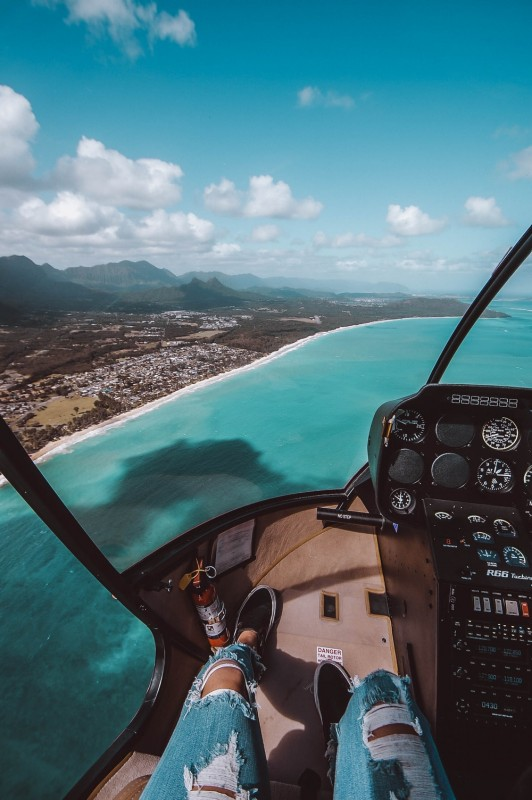 Cele mai bune destinatii pentru un tur cu elicopterul