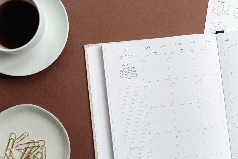 Cum ne ajutam de agende planner in planificarile de zi cu zi