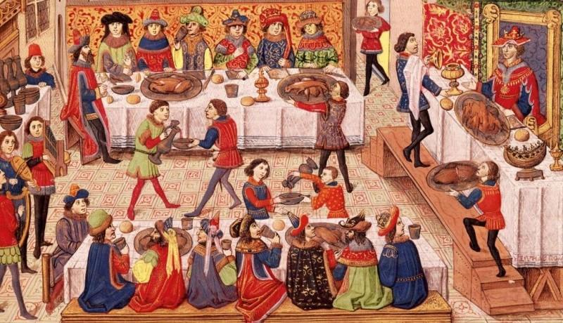 Cum se sarbatoarea Craciunul in Evul Mediu
