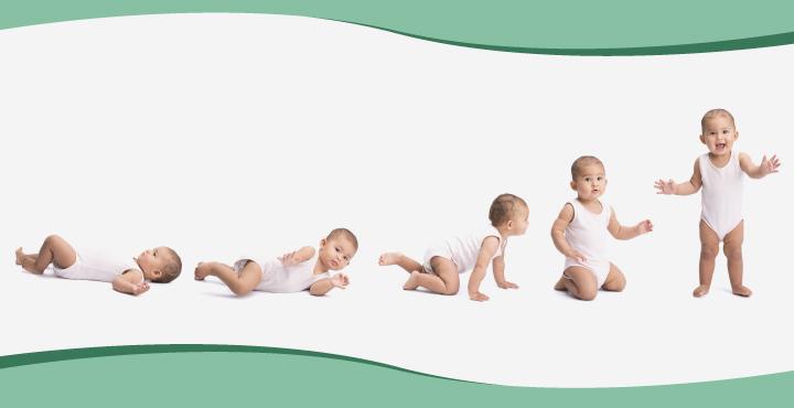 Evolutia bebelusului in primele 4 luni de la nastere