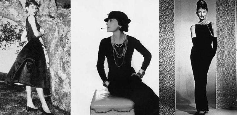 Evolutia rochiei clasice negre Coco Chanel de-a lungul anilor