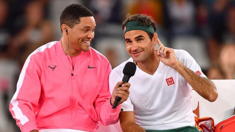 Federer îl bate pe Nadal în meciul din Africa