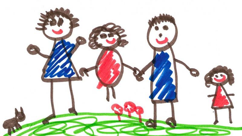 Incurajati copii sa deseneze