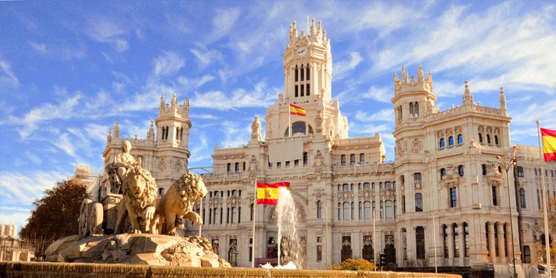O zi in Madrid, Spania