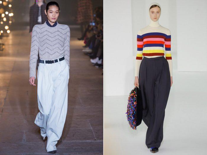 Pantaloni evazati – modele in tendinte