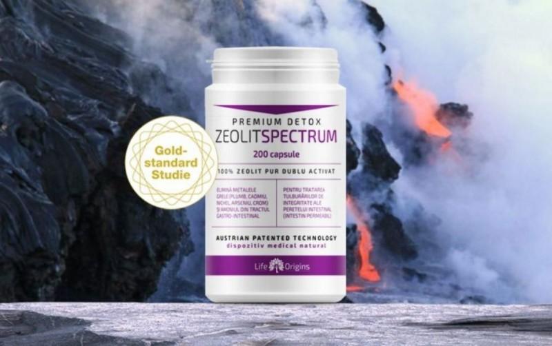 Pentru detoxifierea organismului incepe o cura cu Zeolit Spectrum