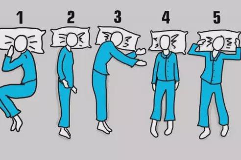 Poziția în care dormi poate spune multe despre personalitatea ta