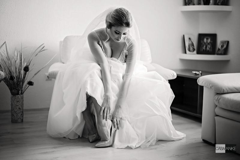 Sa porti sau sa nu porti tocuri la nunta ta? Motive pro si contra