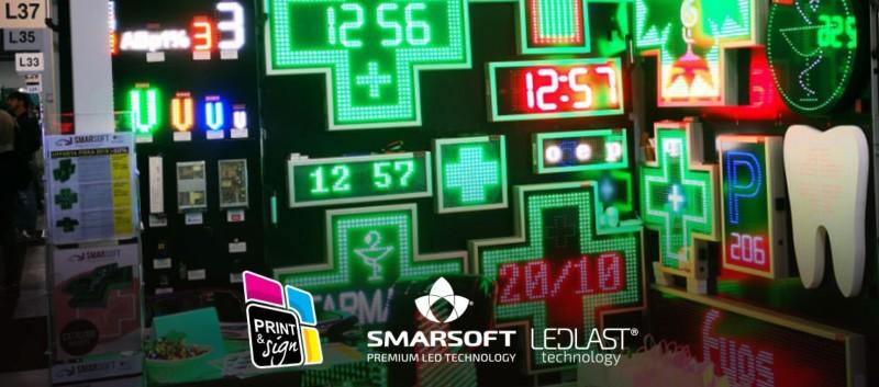 SmarSoft Electronic participa la Expozitia PRINT&SIGN 2019