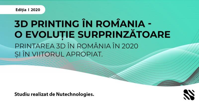 Studiu:Primul studiu despre 3D Printing efectuat in Romania