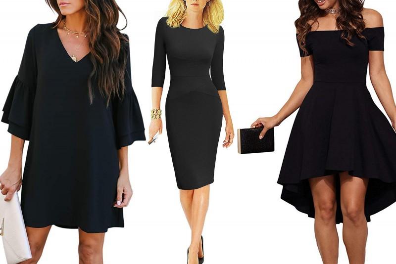 Top 10 rochii negre la moda