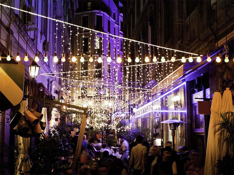 Viata de noapte in Istanbul