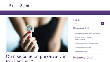 Un blog pentru persoanele adulte - plus18ani.ro