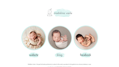 Madalina Vasile Photography - fotografii bebelusi