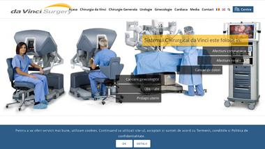 Sistemul Chirurgical da Vinci | Chirurgia Robotica - o noua categorie de chirurgie minim invaziva