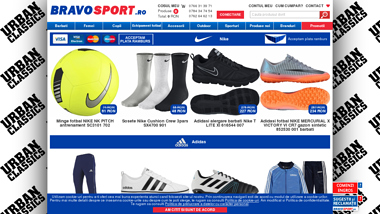 BravoSport.ro magazin echipament sport si casual