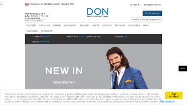 DON MEN - Magazin online haine pentru barbati
