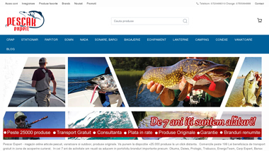 Pescar Expert - Magazin Online Articole Pescuit