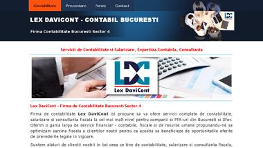 Lex DaviCont - Firma de Contabilitate Bucuresti Sector 4