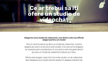 WebCamStudio.Ro - Conditiile Unui Studio De Videochat