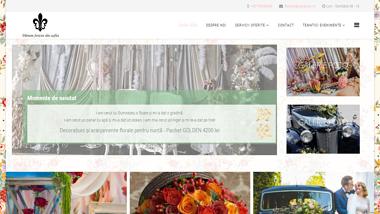 Aranjamente florale nunti tematice - decorațiuni nuntă, buchete mireasă