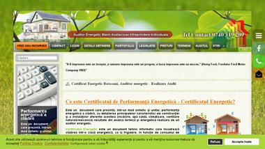 Marin Aostacioaie - Auditor energetic Botosani, realizare certificat energetic