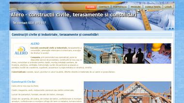 Constructii civile, terasamente si consolidari - Alero