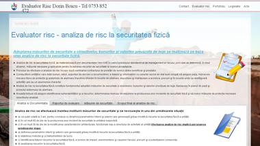 Evaluator risc - analiza de risc la securitatea fizică - Dorin Boicu