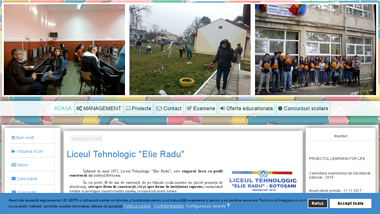 "Liceul Tehnologic ""Elie Radu"" Botosani"