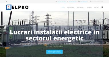 Lucrari instalatii electrice in sectorul energetic - ELPRO