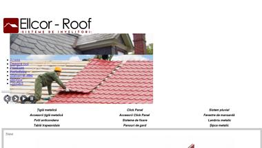 Montaj tigla metalica, montaj acoperisuri si renovari acoperisuri - Ellcor Roof SRL-d