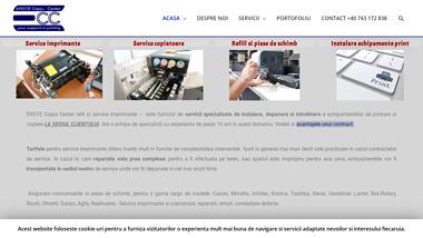 Reparatia echipamentelor de printare si copiere - ERSTE Copia Center