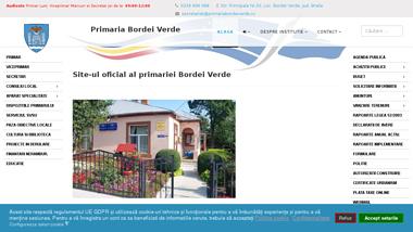 Site-ul oficial al primariei Bordei Verde Jud Braila