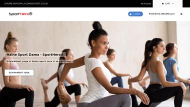 SportHero® | Haine Sport, Yoga si Street Style