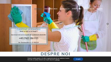 Curatenie, amenajări interioare și exterioare, design, renovări și reparații, finisaje pentru apartamente