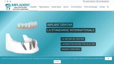 Clinica Dentara Impladent Bucuresti - Implant Dentar