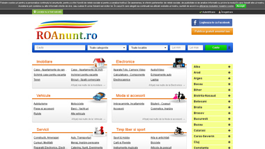 ROAnunt.ro - Anunturi gratuite