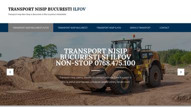 Transport nisip Bucuresti Ilfov - Transport nisip, pietris, balastru Bucuresti
