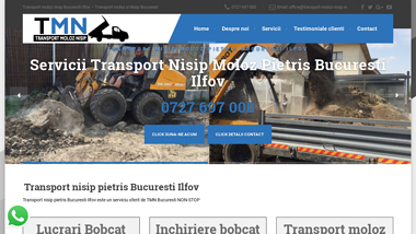 Transport nisip moloz pietris Bucuresti Ilfov - Transport nisip moloz pietris