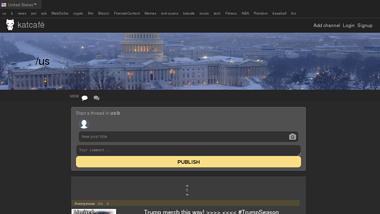 KatCafe - Platforma de Discutii Anonime