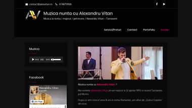 Muzica nunta Tarnaveni / Solist evenimente / Alexandru Vitan