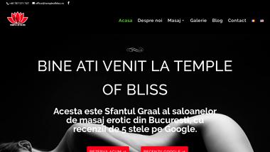 Salon masaj erotic Bucuresti Temple Of Bliss