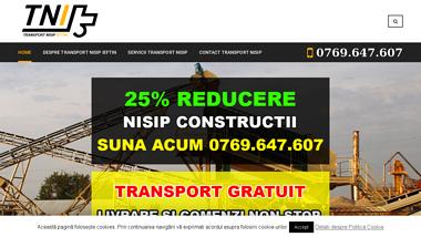 Transport Nisip Ieftin Bucuresti si Ilfov - Transport nisip Bucuresti