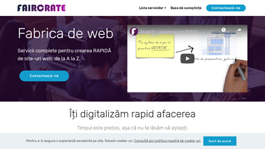 Optimizare site | Faircrate România