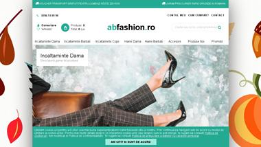 abfashion magazin online cu imbracaminte si incaltamite fashion