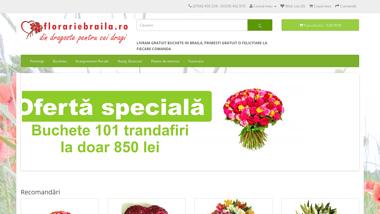 comanda flori braila