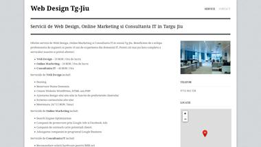 Web Design Targu Jiu