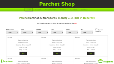 Parchet Shop