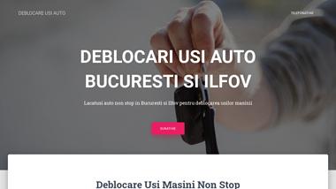 Deblocari usi auto non stop Bucuresti si Ilfov